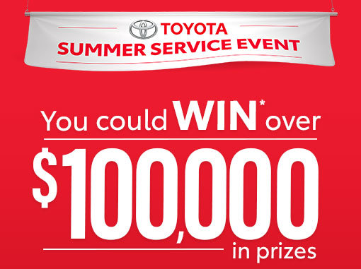 Toyota Summer Service Event