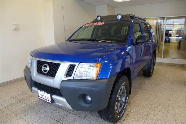 2015 Nissan Xterra PRO 4X