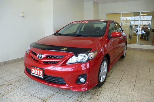 2012 Toyota 6M Manual S