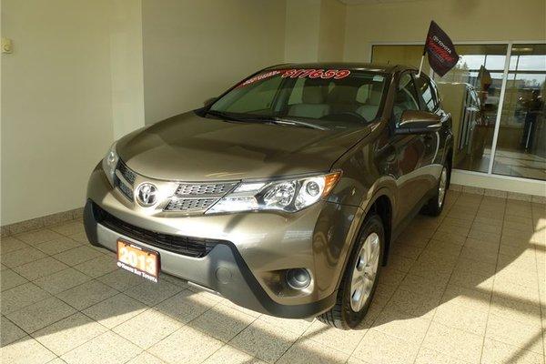 2013 Toyota RAV4 Front Wheel Drive
