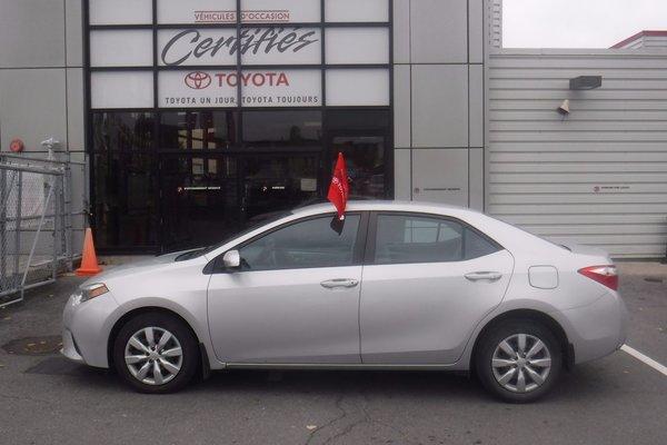 Toyota Corolla CERTIFIE EN 160 POINTS 2014