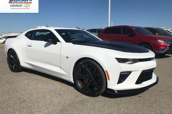 New 2018 Chevrolet Camaro Ss 316 B W Summit White For Sale