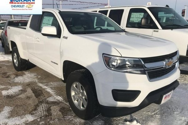 2018 Chevrolet Colorado Work Truck  -  Towing Package - $206.93 B/W
