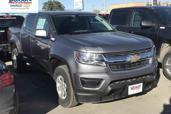 2018 Chevrolet Colorado Work Truck  -  Towing Package - $227.12 B/W