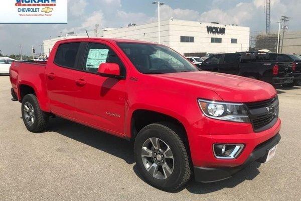 2018 Chevrolet Colorado Z71  - $251.35 B/W