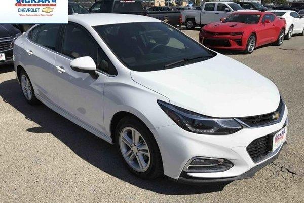 2017 Chevrolet Cruze LT  - Bluetooth -  SiriusXM - $156.21 B/W