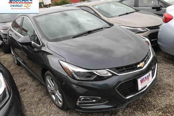 2017 Chevrolet Cruze Premier  - Leather Seats - $170.40 B/W