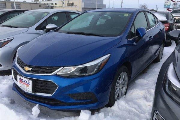 2018 Chevrolet Cruze LT  - Bluetooth -  Heated Seats - $153.41 B/W