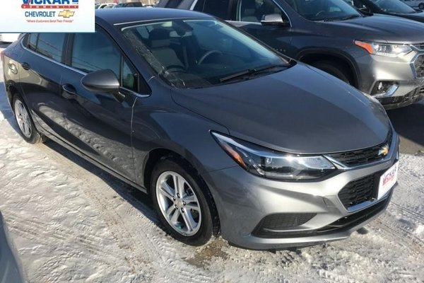 2018 Chevrolet Cruze LT  - Bluetooth -  Heated Seats - $145.20 B/W