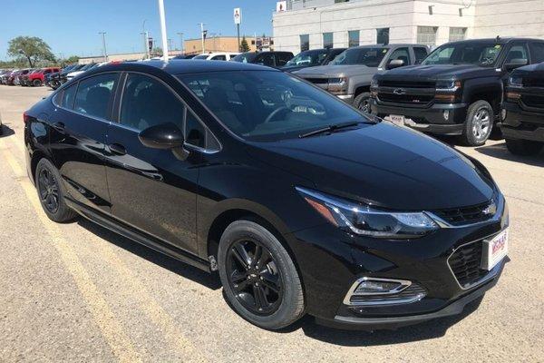 2018 Chevrolet Cruze LT  - Bluetooth -  Heated Seats - $162.86 B/W
