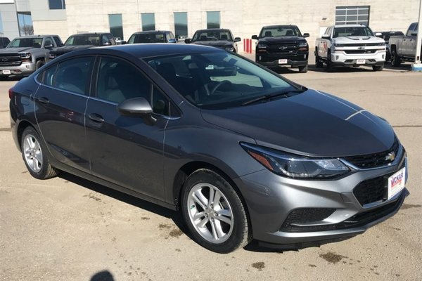 2018 Chevrolet Cruze LT  - Bluetooth -  Heated Seats - $173.86 B/W