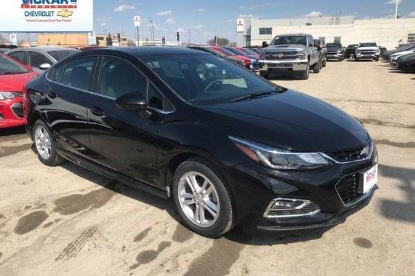 2018 Chevrolet Cruze LT  - Bluetooth -  Heated Seats - $178.00 B/W