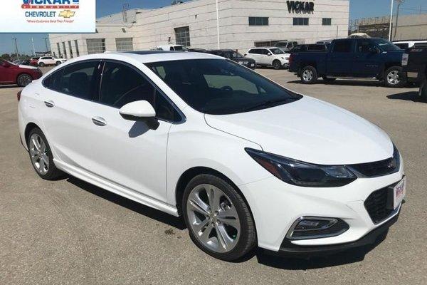 2018 Chevrolet Cruze Premier  - $174.92 B/W