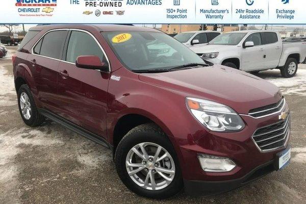 2017 Chevrolet Equinox LT  - Bluetooth -  Heated Seats - $191.70 B/W