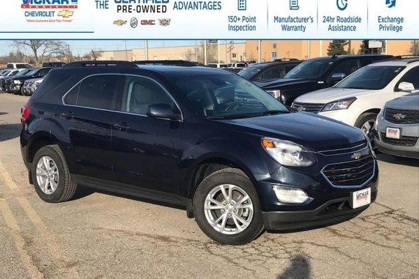 2017 Chevrolet Equinox LT  - Bluetooth -  Heated Seats - $186.83 B/W