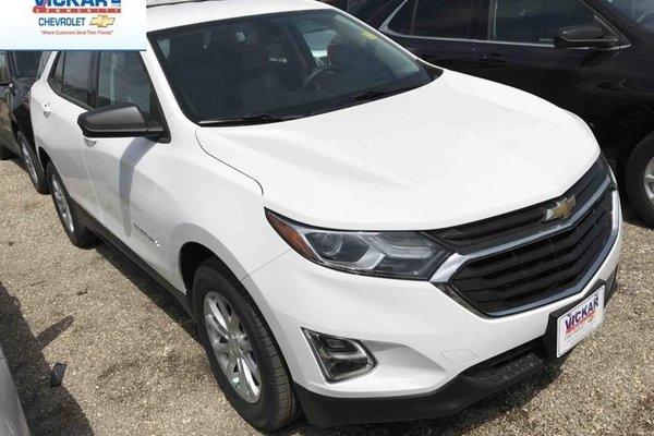 2018 Chevrolet Equinox LS  - Bluetooth -  Heated Seats - $163.17 B/W