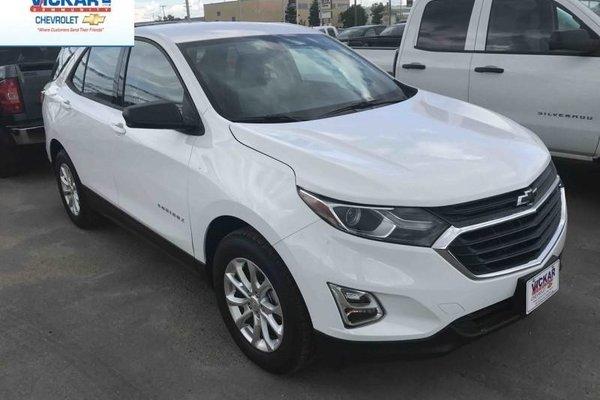 2018 Chevrolet Equinox LS  - Bluetooth -  Heated Seats - $172.04 B/W