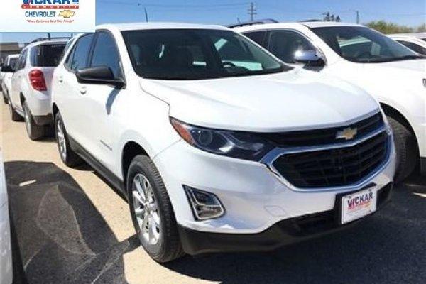 2018 Chevrolet Equinox LS  - Bluetooth -  Heated Seats - $161.71 B/W