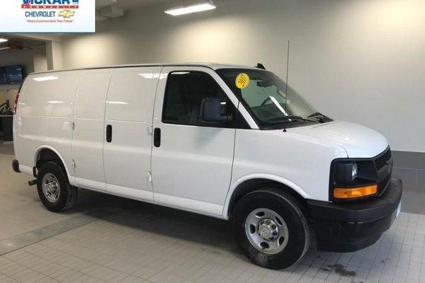 2017 Chevrolet Express Cargo Van WT  -  Power Windows - $193.75 B/W