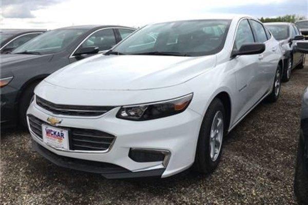 2017 Chevrolet Malibu LS  - Bluetooth -  OnStar - $158.81 B/W