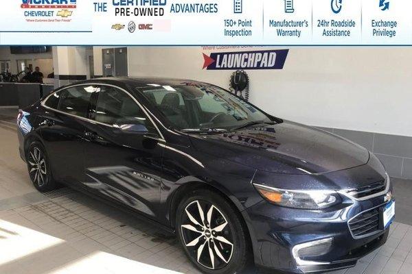 2018 Chevrolet Malibu LT TRUE NORTH, NAVIGATION, BOSE, SUNROOF  - $167.56 B/W