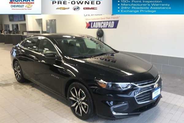 2018 Chevrolet Malibu LT NAVIGATION, SUNROOF, BOSE AUDIO   - $181.05 B/W