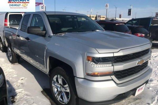 2018 Chevrolet Silverado 1500 Custom  -  Bluetooth - $267.27 B/W