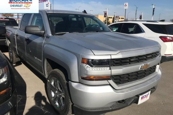 2018 Chevrolet Silverado 1500 Custom  -  Bluetooth - $314.11 B/W