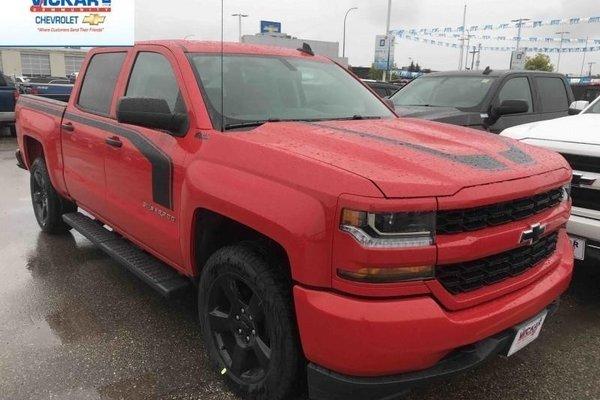 2018 Chevrolet Silverado 1500 Custom  -  Bluetooth - $331.85 B/W