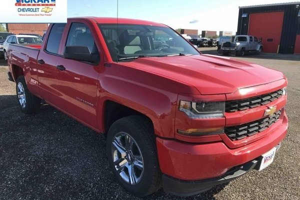 2018 Chevrolet Silverado 1500 Custom  -  Bluetooth - $269.88 B/W