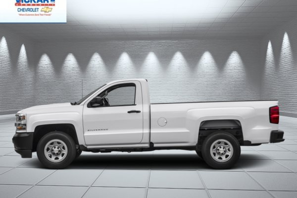 2018 Chevrolet Silverado 1500 Work Truck  - Cruise Control - $196.57 B/W