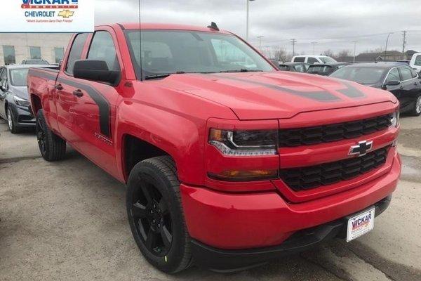 2018 Chevrolet Silverado 1500 Custom  -  Bluetooth - $287.34 B/W