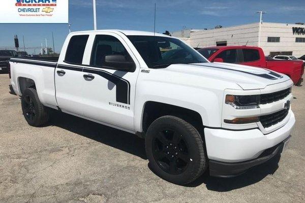 2018 Chevrolet Silverado 1500 Custom  - $269.95 B/W