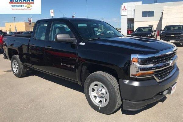 2018 Chevrolet Silverado 1500 Work Truck  - Cruise Control - $235.07 B/W