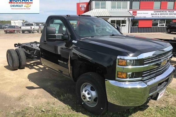 2017 Chevrolet Silverado 3500HD Chassis WT  -  Towing Package - $246.62 B/W