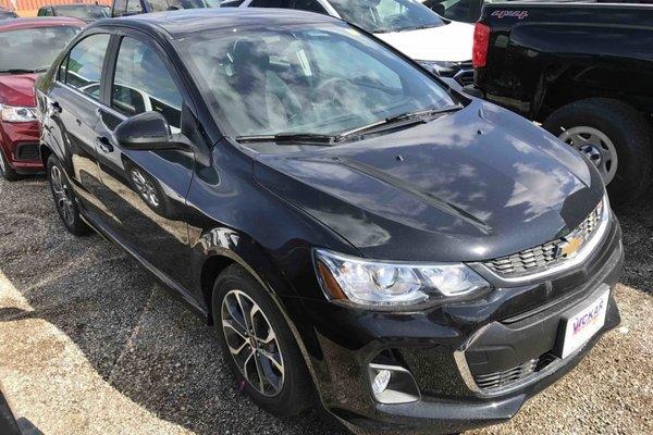 2017 Chevrolet Sonic LT  - Bluetooth - $154.32 B/W