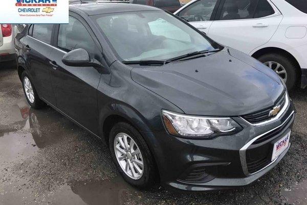 2017 Chevrolet Sonic LT  - Bluetooth - $128.17 B/W