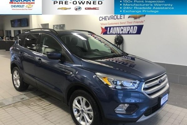 2018 Ford Escape SEL  NAVIGATION, SUN ROOF, LEATHER INTERIOR  - $201.25 B/W