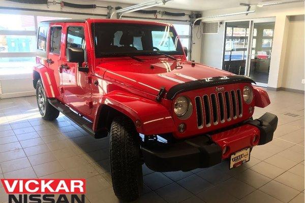 2016 Jeep Wrangler Unlimited SAHARA/SAVE HUGE!!!