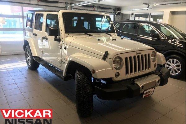 2017 Jeep Wrangler Unlimited SAHARA/SAVE HUGE!!!