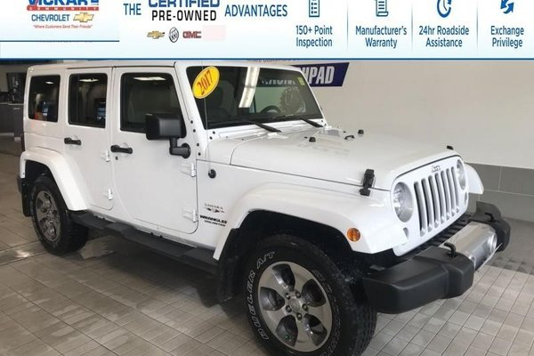 2017 Jeep Wrangler Unlimited Sahara  - $241.61 B/W