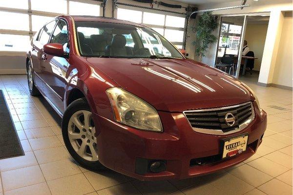 2007 Nissan Maxima 3.5 SL/BLUETOOTH/LEATHER/SUNROOF