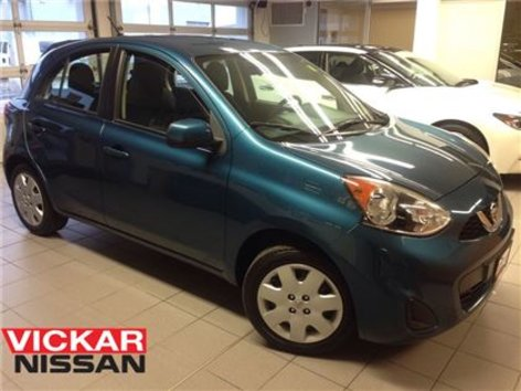 2015 Nissan Micra SV/1 OWNER LOCAL TRADE!!!