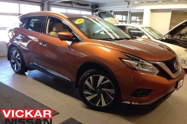 2016 Nissan Murano PLATINUM/1 OWNER LOCAL TRADE!!