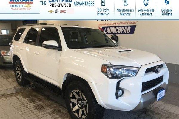 2018 Toyota 4Runner SR5 SUNROOF, NAVIGATION, LEATHER SEATS, 4X4 OFFROAD !!!  - $294.14 B/W