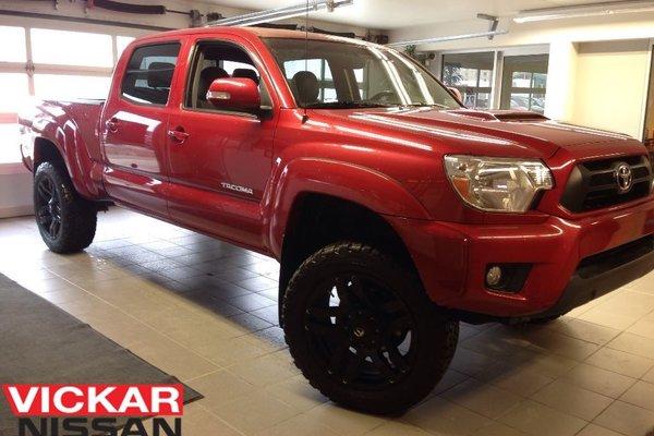 2015 Toyota Tacoma TRD / CREW / LOW KMS / CUSTOM