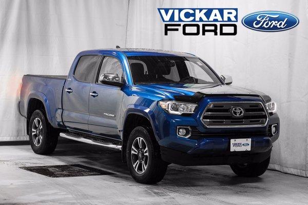 2016 Toyota Tacoma 4x4 Double Cab V6 Limited 6A