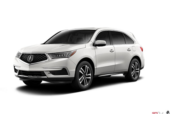 Acura Certified Pre-Owned >> New 2017 Acura MDX TECH near Montreal | Acura Brossard