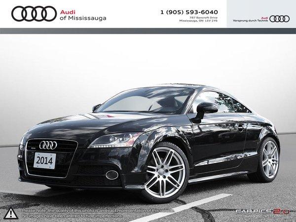 2014 Audi TT 2.0T 6sp S tronic Cpe