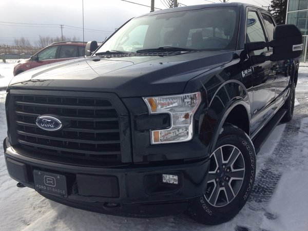 used 2015 ford f-150 supercrew xlt sport black for sale at $34988.0